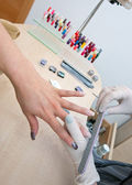 Manicure treatment — Stock Photo