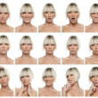Stock Photo: Woman expressions