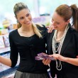 Two woman shoping — Stock Photo