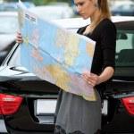 Woman traveler — Stock Photo #19801017