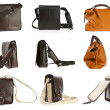Woman purse collection — Stock Photo #19909603