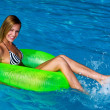 Woman in the water — Stock Photo #20429733