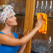 Woman cleaning — Stockfoto #20437853