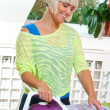 Royalty-Free Stock Photo: Woman ironing