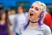 Attractive teen girl — Stock Photo
