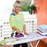 Woman ironing — Stock Photo #20447229