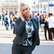 Woman with mobile phone — Stock Photo #20463155