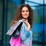 Woman shopping — Stock Photo #21412537