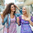 Two woman friends — Stock Photo