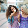 Two teen woman friends — Stock Photo #21414025
