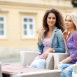 Two woman friends — Stock Photo #21415583