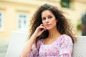 Beautiful woman portrait — Stock Photo