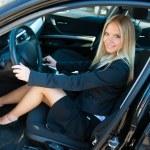 Woman in car — Stock Photo #21422169