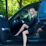 Woman in car — Stock Photo #21422521