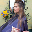 Woman in hair salon — Stock Photo #21441693