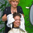 Woman in hair salon — Stock Photo #21454473