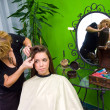Working scene from hair salon — Stock Photo #21454959
