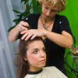 Hair stylist at work — Stock Photo #21455149