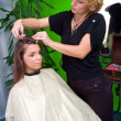 Hair stylist at work — Stock Photo #21455801