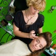 Hair stylist at work — Lizenzfreies Foto
