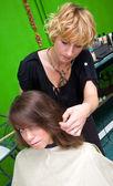 Making haircut — Stock Photo