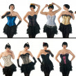 Stock Photo: Womin corsets