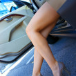 Stock Photo: Great woman legs