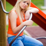 Sad teen girl — Stock Photo #22307303