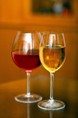 Two wine glasses — Stock Photo