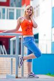 Teen girl — Stock Photo