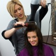 Hair stylist at work — Stock Photo #22313343