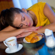 Sleepy breakfast — Stock Photo #22734309