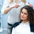 Woman in hair salon — Stock Photo #25385247