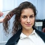 Woman in hair salon — Stock Photo #25387035