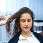 Woman in hair salon — Stock Photo #25387073