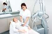 Cellulite treatment therapy — Stock Photo