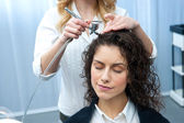 Fortifying hair — Stock Photo