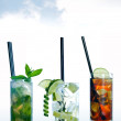 Cocktail drinks — Stockfoto