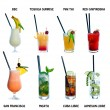 Cocktail — Stockfoto