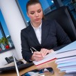 Business woman working — Stock Photo #25399337