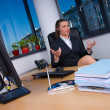 Business woman in office - Lizenzfreies Foto