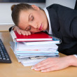 Business woman sleeping — Stock Photo #25400305