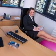 Business woman in office — Stock Photo #25401001