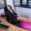 Business woman in office — Stok Fotoğraf #25401185