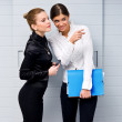 Office gossip — Stock Photo #26044177
