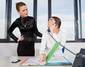 Two businesswoman — Stock Photo