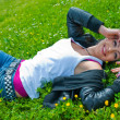 Teen girl — Stockfoto