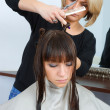 Woman in hair salon — Stock Photo #26065541
