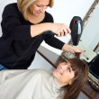 Scene in hair salon — Stock Photo #26066295