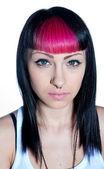 Punk rock teen girl — Stock Photo